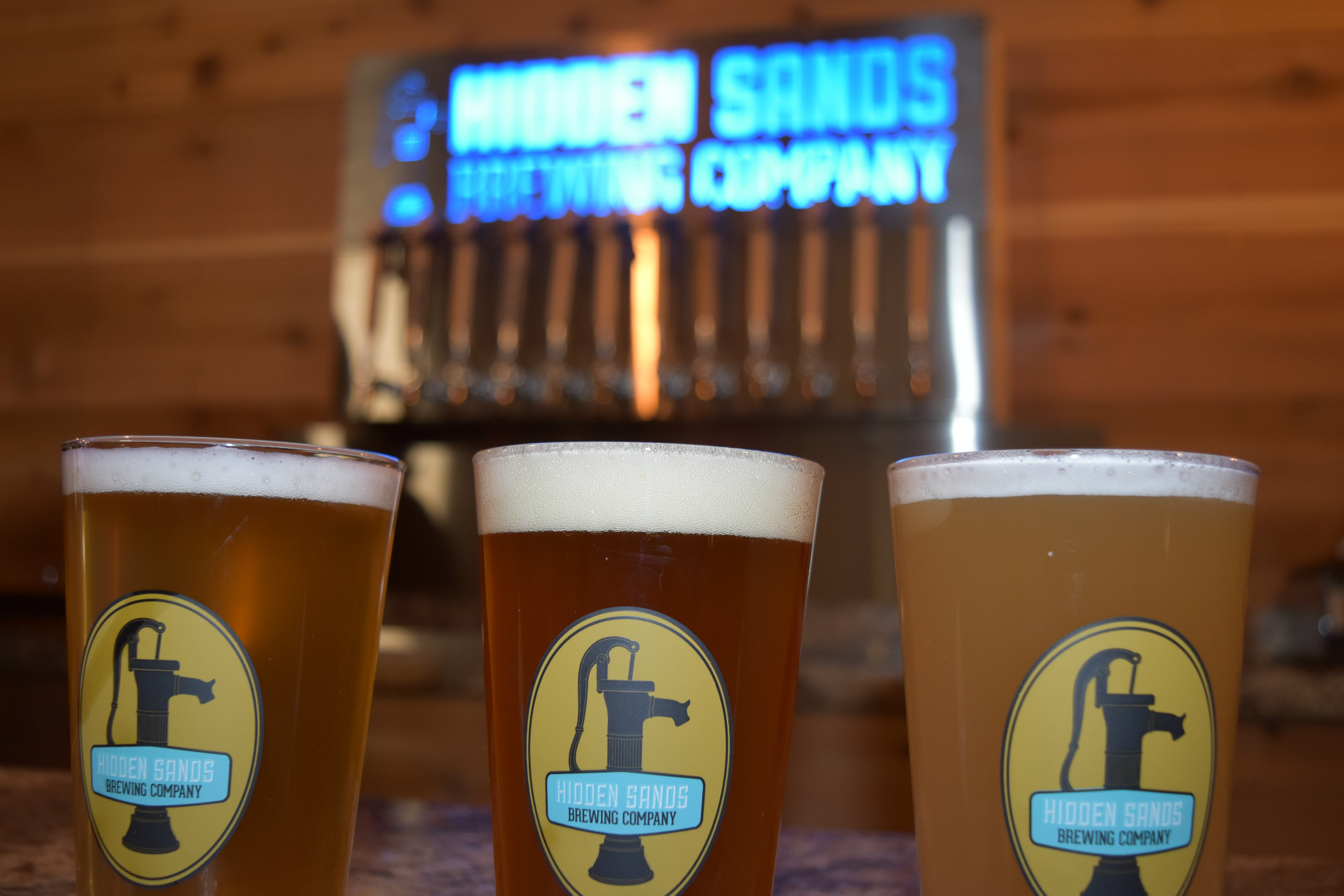 Hidden Sands Brewing Company Brewhouse
